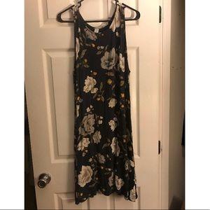 💐floral sleeveless dress